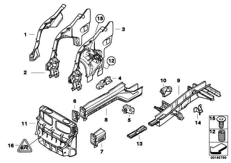 bmw wiring harness clips