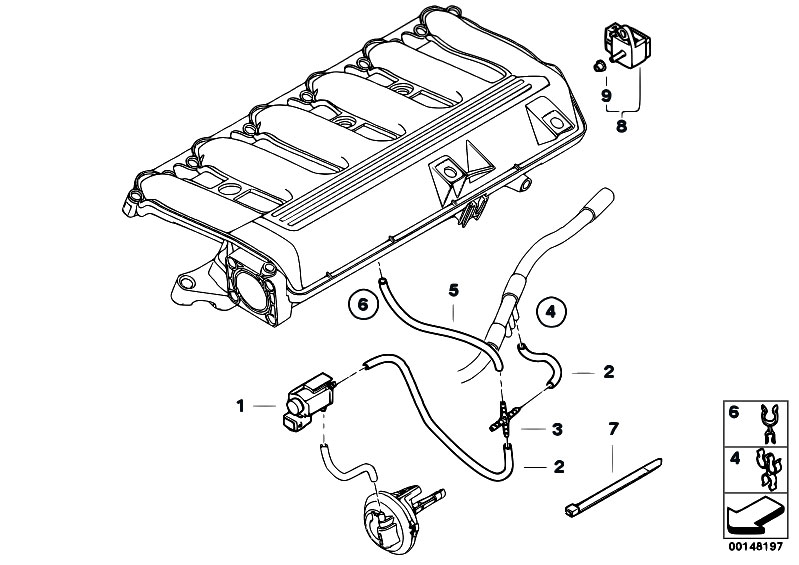 also bmw e46 cooling system diagram furthermore 2000 bmw 323i vacuum