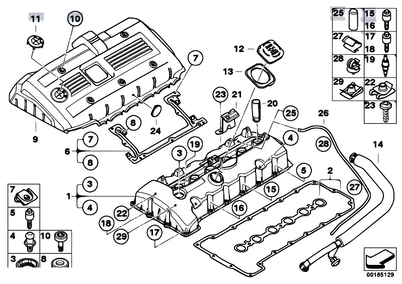 bmw mini one engine diagram