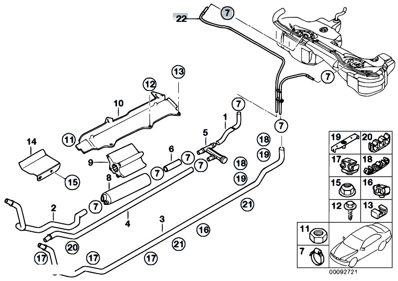 bmw e46 fuel pump diagram