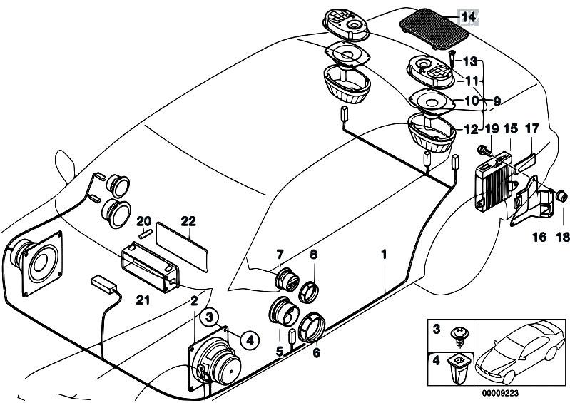 serie woofer wiring diagrams