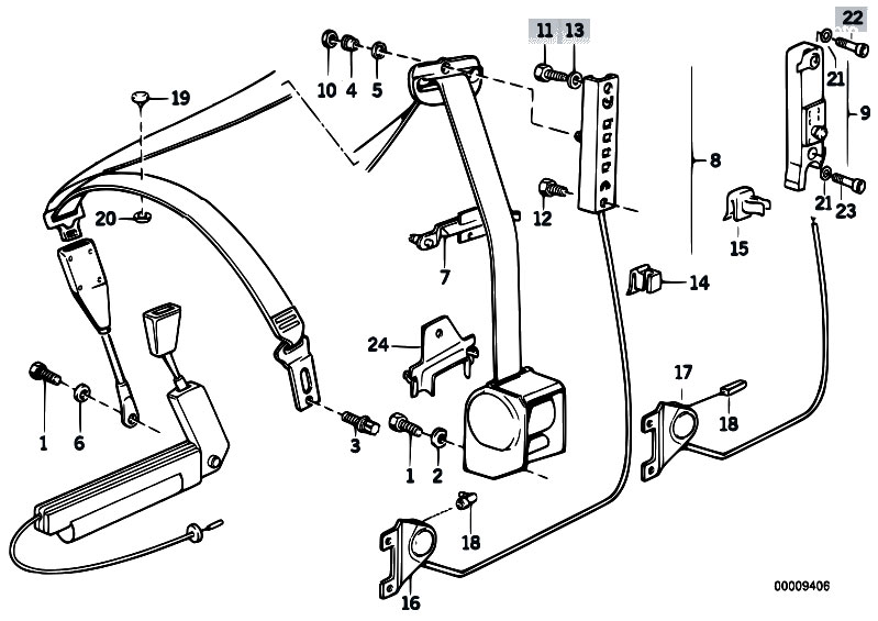 1992 bmw 525i engine diagram