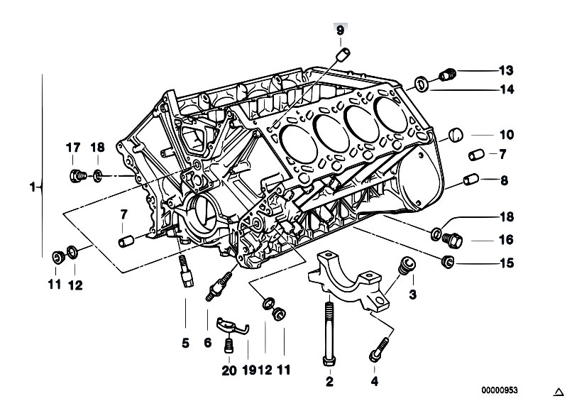 bmw e53 engine diagram