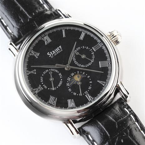 Stauer Magnificat II Noire Dial Watch