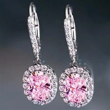 Palos Pink DiamondAura Earrings