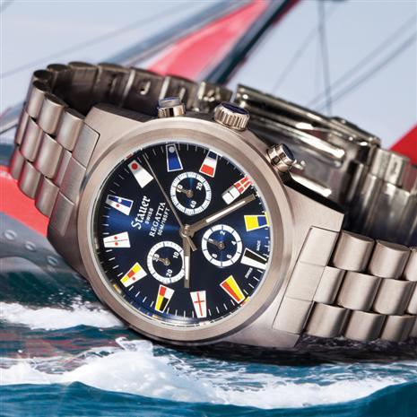 Stauer Regatta Chronograph Watch