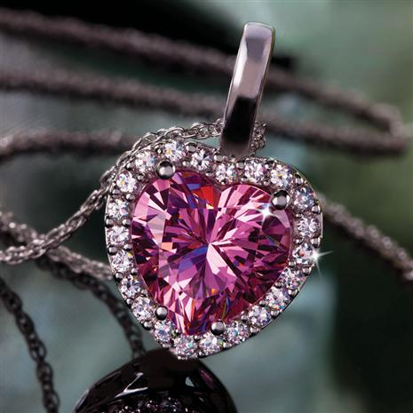 DiamondAura Pure Heart Pendant