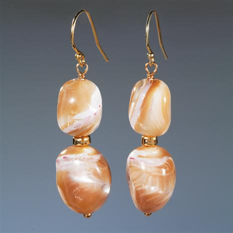 Maris Mother of Pearl Earrings