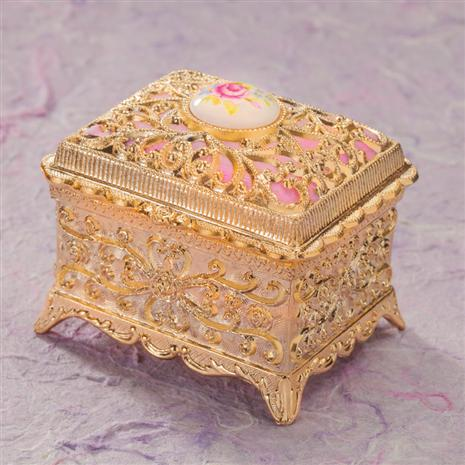 Elise Musical Jewelry Box