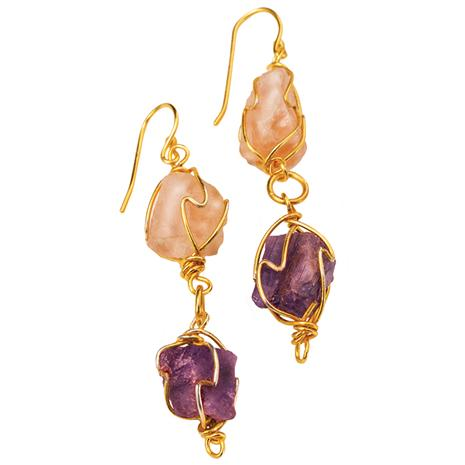 Pangani Gemstone Earrings