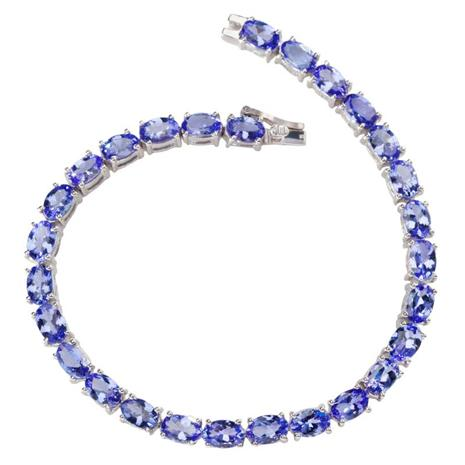 Tanzanite Tennis Bracelet
