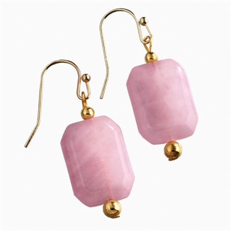 Bavarian Rose Quartz Earrings