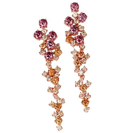 Beaujolais Bouquet Earrings