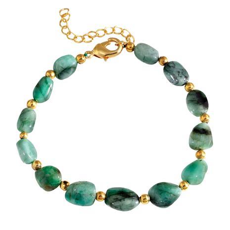 Amazonian Emerald Bracelet