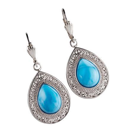 Larimar Sensation Earrings