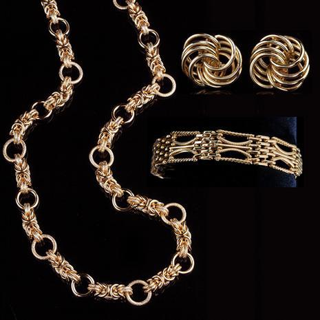 Bellissimo Necklace, Bracelet & Earrings Set