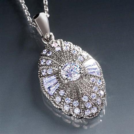 Ingrid Bergman Stockholm Diamond Aura Necklace
