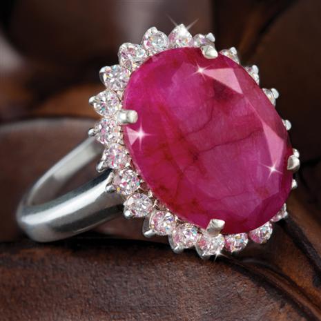 Passione Ruby & DiamondAura Ring