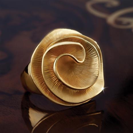 Florista Golden Sunshine Ring