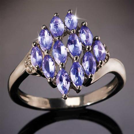 Kibo Tanzanite Ring
