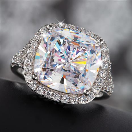Diamond Aura Infinity Ring