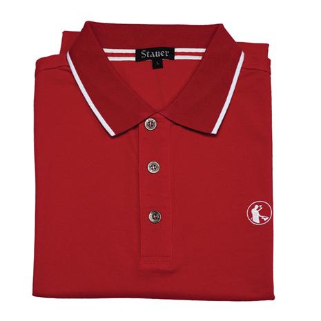 Stauer Luxury Red Polo