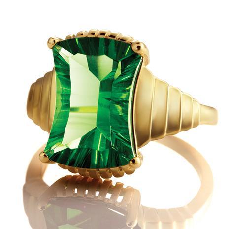 Helenite Phoenix Ring
