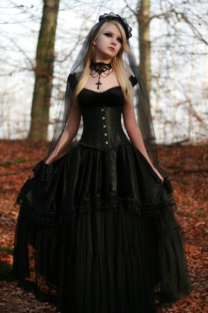 beautiful black wedding dresses red gothic wedding dress Black Wedding Dresses Stay At Home Mum