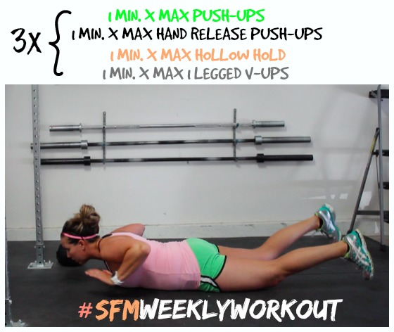 Fast workout I can do right at home! I love all these workouts posted every week!