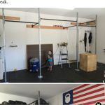 You can get a sneak peak of stayfitmomcoms new garagegymhellip