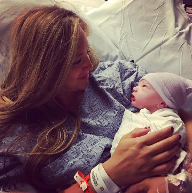 There is nothing like the moment you meet your baby for the first time. Here Stay Fit Mom Tracy tell the birth story of her son Oliver.