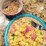 Breakfast 1 cup egg whites 2 slices of ham 14hellip