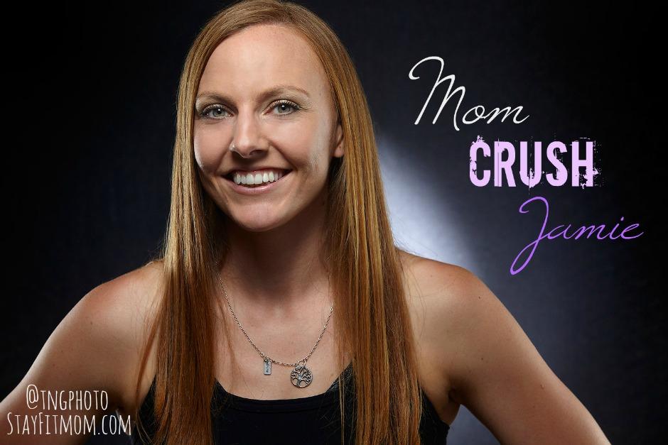 Mom Crush Jamie counting macros with StayFitMom.com.