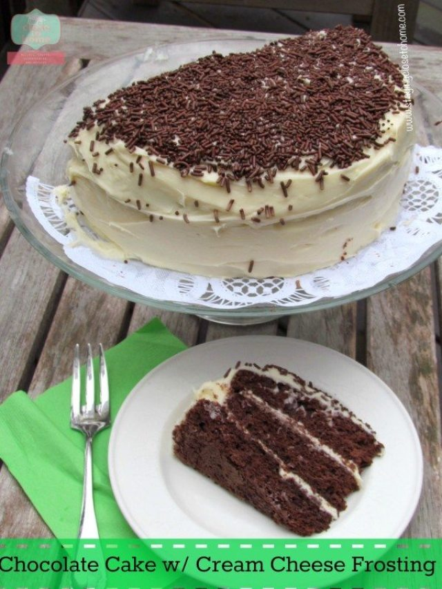 Chocolate cake recipe with creamcheese frosting