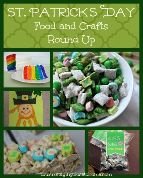 st patricks day crafts food