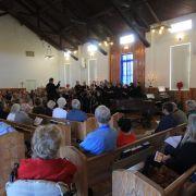 St Ben's Singers, John Cribb conducting