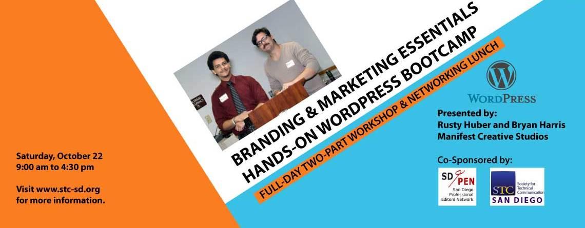 Fall Workshop: Branding and Marketing Essentials / Hands-On WordPress Bootcamp