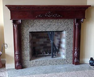 Fireplace Mantels Custom Wood Fireplaces Mantels St