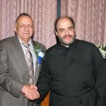 Fr. George with Jerry Tsandiotis, Father of the Year