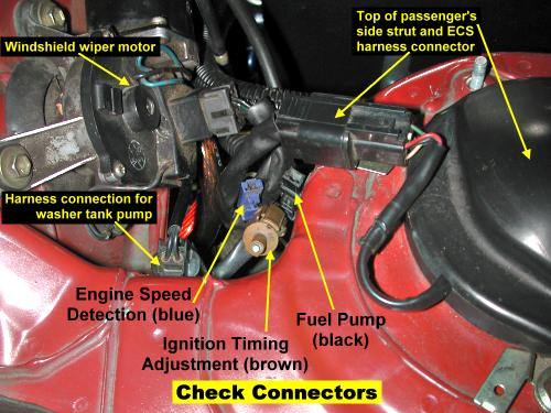 Water Pump Removal In Addition 1992 3000gt Vr4 Vacuum Hose Diagram