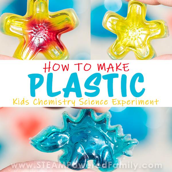 How To Make Plastic - Gelatin Bioplastic Science Project