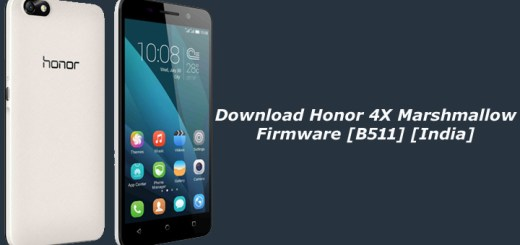 Download Honor 4X Marshmallow Firmware [B511] [India]