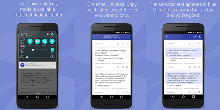 How to Copy Text from any Android Apps