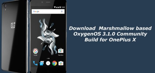 Download OxygenOS 3.1.0 for OnePlus X