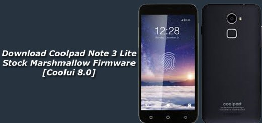 Download Coolpad Note 3 Lite Stock Marshmallow Firmware [Coolui 8.0]