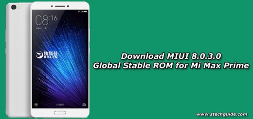 Download MIUI 8.0.3.0 Global Stable ROM for Mi Max Prime