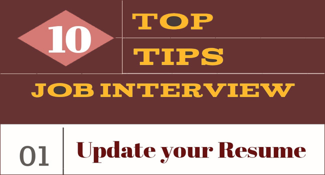 Top 10 Tips to Crack your First Job Interview
