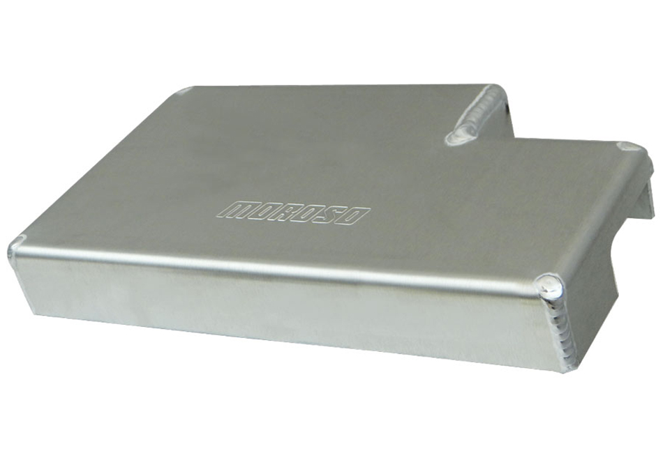 Moroso S550 Mustang Aluminum Fuse Box Cover (15-17 All), 369 74255