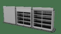 Heavy Duty Roll-Up Door Cabinet - SteelSentry