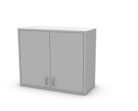 36 Wide Wall Cabinet - SteelSentry